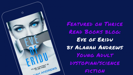 IG/FB image for Sam's Teen Reads Corner review of Eve of Eridu by Alanah Andrews