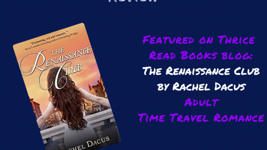 Jenn reviews Rachel Dacus' time travel romance, The Renaissance Club - Contemporary Romance, Time Travel, Renaissance Italy
