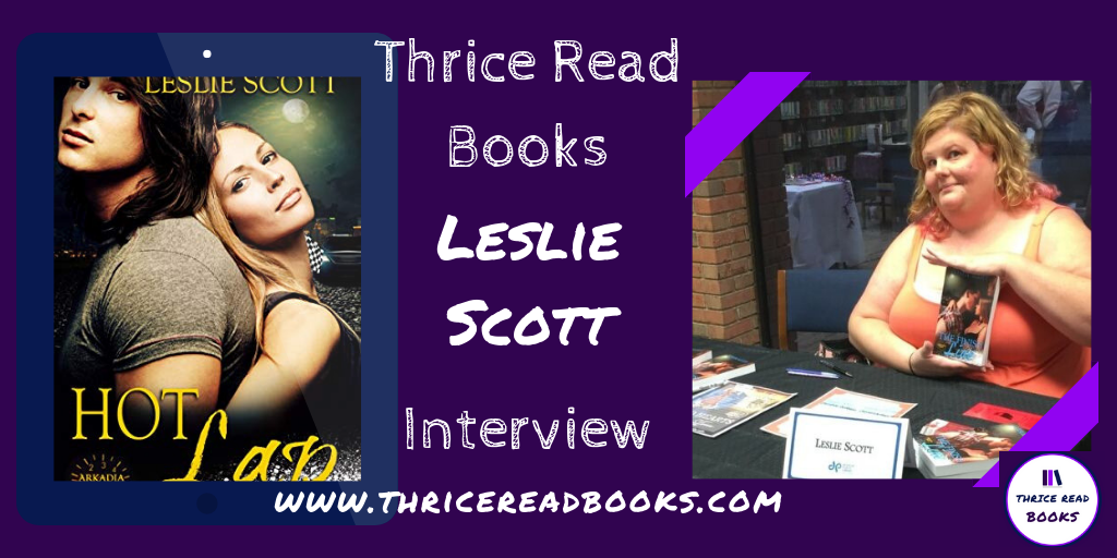 Jenn interviews Leslie Scott, contemporary romance author and creator of the Arkadia Fast series