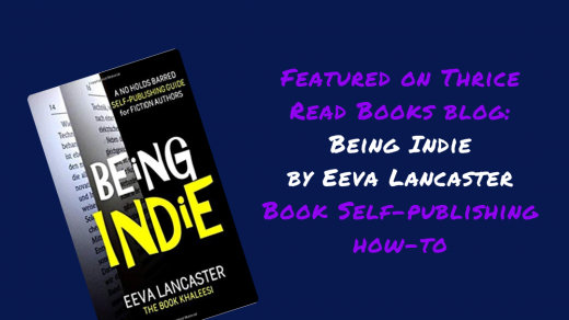 IG for Being Indie book review on the Thrice Read Books review blog