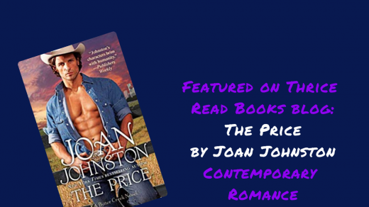 Square image for Jenn's review of THE PRICE by Joan Johnston