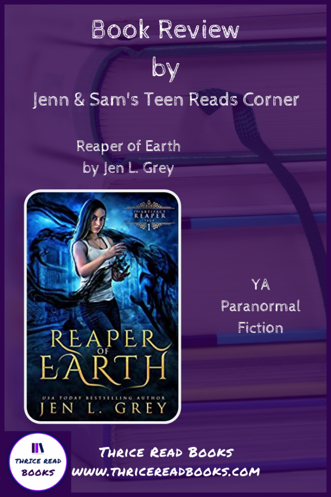Pinnable Image - Reaper of Earth Review by Thrice Read Books