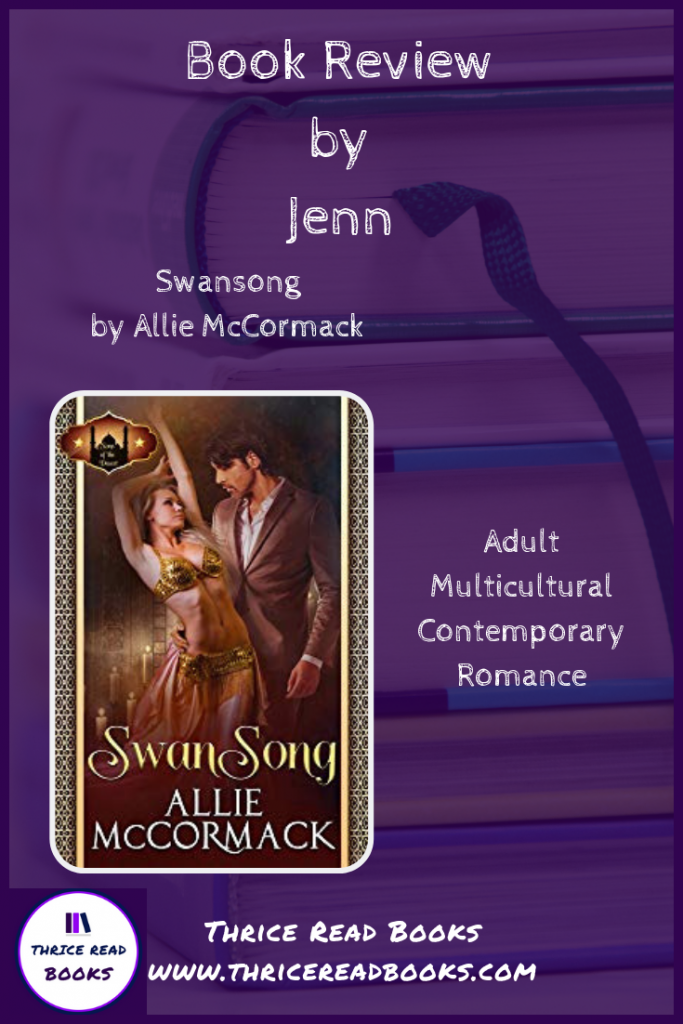 Pin for Jenn's Review of Allie McCormack's SWANSONG