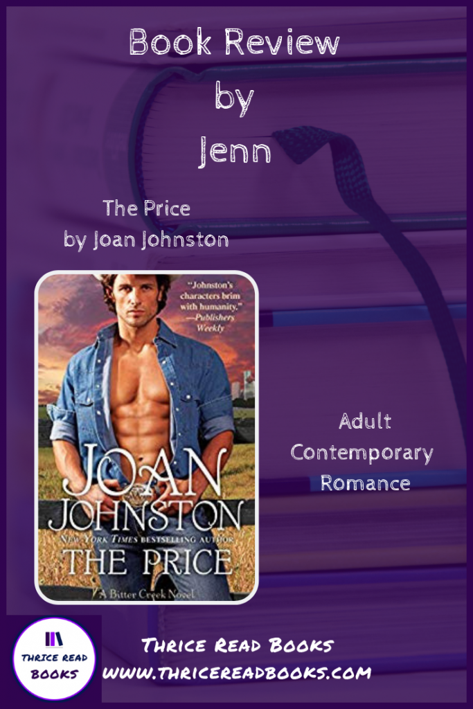 Pinnable image for Jenn's review of THE PRICE by Joan Johnston
