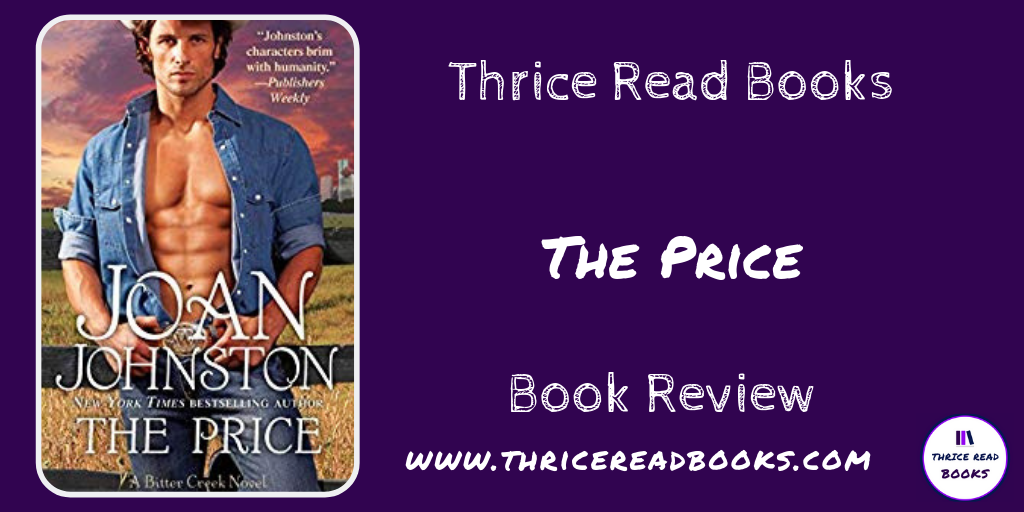 Twitter for Jenn's review of THE PRICE by Joan Johnston on the Thrice Read Books review blog