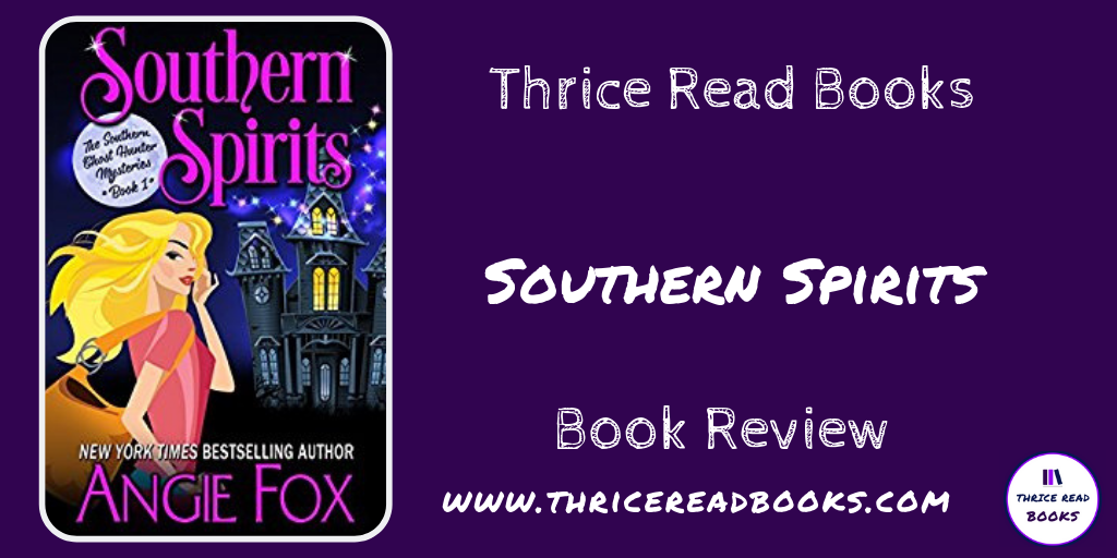 Twitter image for Southern Spirits review on Thrice Read Books Blog