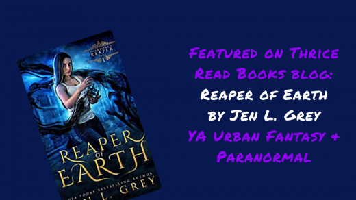 IG Post Reaper of Earth review Thrice Read Books YA Paranormal and Urban Fantasy