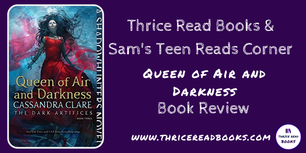 Twitter for Queen of Air and Darkness review