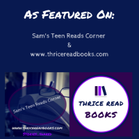 Sam's Teen Reads Corner - As Featured badge