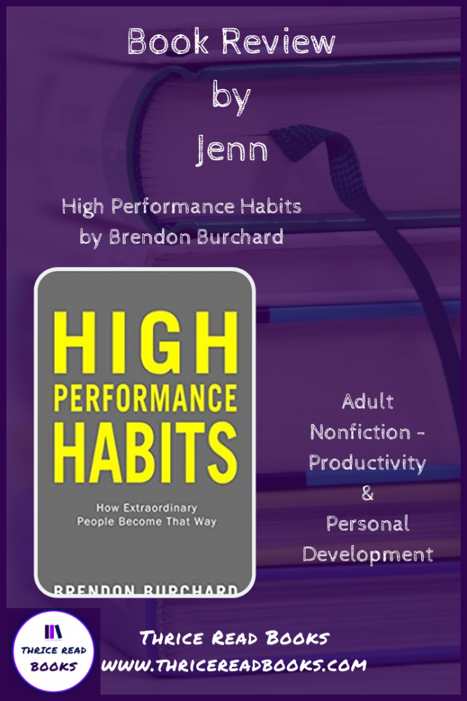 Pin for High Performance Habits review